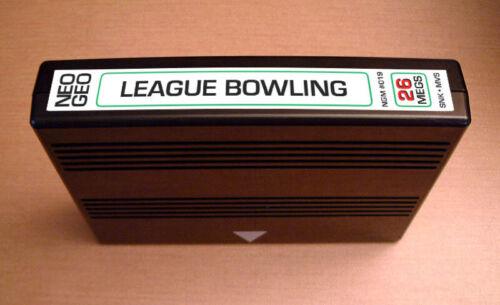 League Bowling MVS • Neo Geo JAMMA Arcade System/Console • SNK Sports ~ Ten Pin