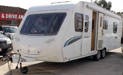 2010 SWIFT STERLING SEMI OFF ROAD CARAVAN
