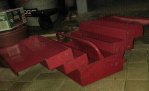 Toolbox portable steel cantilever