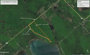 Vacant Land (113.7 acres) with hunt camp - St Joseph Island