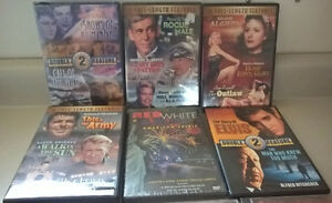 10 DVD/ Cd Movies