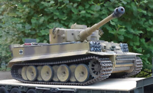 Tamiya Tiger Tank 1/16 scale R/C Remote Control w/camera