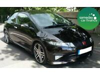 £158.31 PER MONTH BRONZE 2008 HONDA CIVIC 2.0 TYPE R GT I-VTEC 3 DOOR PETROL