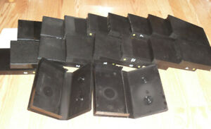 20 x VHS Cassette Tape Cases / Covers