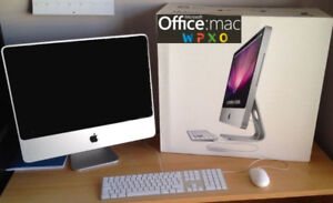 iMac 20 / SuperFast Intel @ 2.40 GHz / Microsoft Off. for Mac
