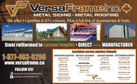 Metal Roofing & Siding - Manufacturer Direct