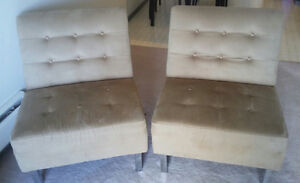 Chairs/ love seat and ottoman for sale