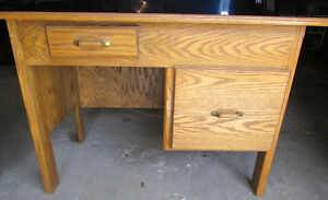 Solid wood desks 4 sale