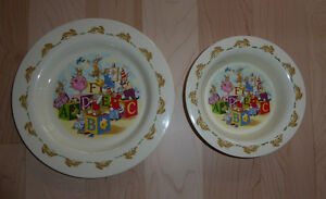 Royal Doulton kids' bowl and plate