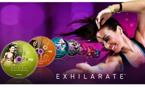 Zumba 7 DVD Set Exhilarate in OVP Fitness 100% Körperstraffung komplett deutsch