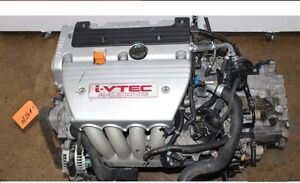 Engine for 2003 -- 2008 Acura TSX 2.4L K24A2 Good Condition