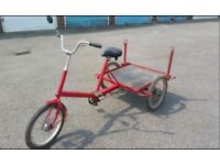BARGAIN/ UNMISSABLE - MUST GO -Pashley Loadstar - Classic Tricycle