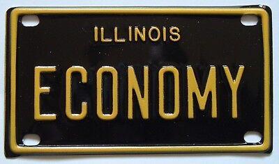 Economy Antique Gas Engine Hit Miss Miniature License Plate