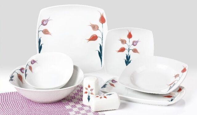Porcelain Dinner Service Combi 28 pcs tk-951 Lina NEW