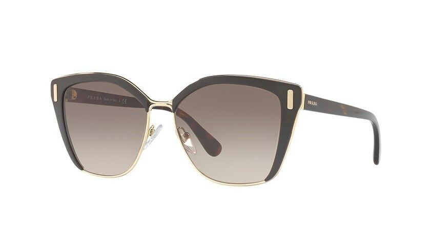 PRADA MOD EVOLUTION SPR 56TS Brown/brown Shaded (DHO-3D0) Sunglasses