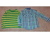 Boys top and shirt size 3-4years 104cm