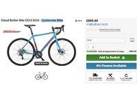 claude butler cx13 cycolocross bike