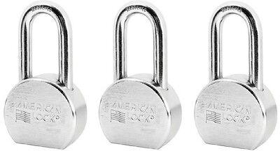 3 American Lock A703ka35257 2-12 Keyed Alike Case Hardened Steel Padlocks