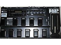 Line 6 pod xt live bass guitar effects unit.