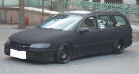 Saab, Vauxhall banded steel wheels, 5x110, staggered, Saab, Vauxhall