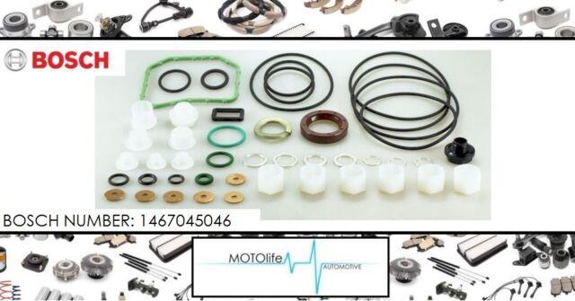 EINSPRITZPUMPE Bosch 1467045046 Dichtungssatz Reparatur VP44 Audi BMW VW Opel