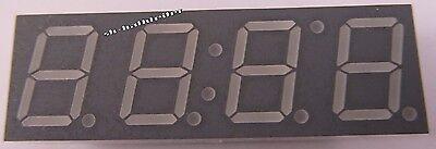 3 Stück - LTC4727WC  LITEON 4-Digit 10mm LED 7-Segment Anzeige ROT (AE19/8097)