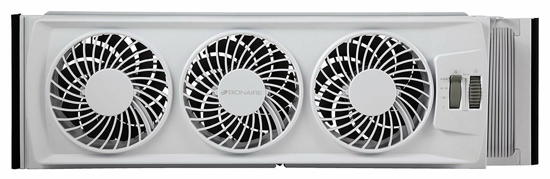 Window Fan Thin Home Airflow Cooling Spring Summer Adjustabl