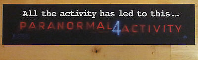 Paranormal Activity 4, Large (5X25) Movie Theater Mylar Banner/Poster