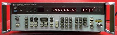 Hp - Agilent - Keysight 8656b Synthesized Signal Generator 0.1 To 990 Mhz