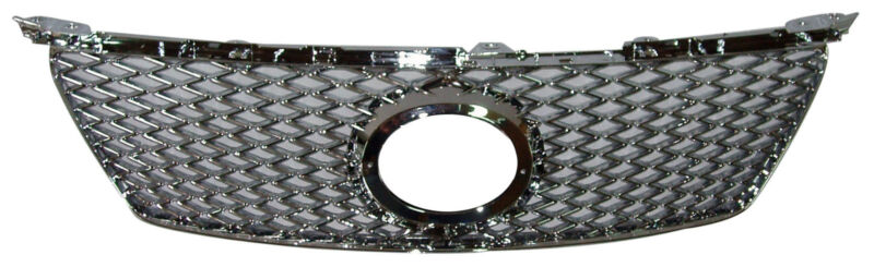 FRONT MESH REPLACEMENT GRILLE FOR LEXUS IS250/IS350 '06-'08 CHROME(F STYLE)