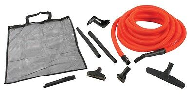Central Vacuum Garage Kit With 50 Foot Hose And Accessories