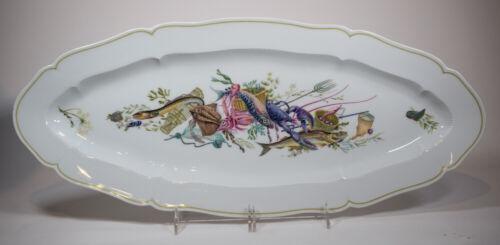 Haviland Large Fish Platter, Calanque
