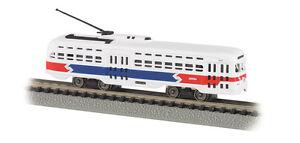 Bachmann-N-62997-Philadelphia-SEPTA-Railway-Streamline-PCC-Streetcar-Trolley
