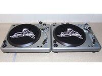 BUSH ACOUSTICS Belt-Drive Vinyl DJ Turntables.