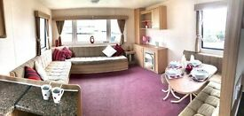 STATIC CARAVAN FOR SALE ! PET FRIENDLY PARK OPEN 12 MONTHS,SEA VIEW PITCH,PAYMENT OPTIONS AVAILBLE