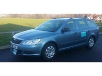 2010 SKODA OCTAVIA 1.6 TDI CR oldham taxi plated 162k with full service history 3650