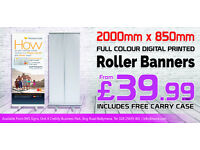 ROLLER BANNERS from £39.99 (+VAT), Northern Ireland based
