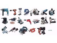 I buy/free power tools broken or working
