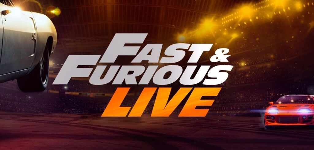 4x Fast & Furious LIVE Tickets (+ Collector Tickets)