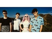 3 x Clean Bandit Tickets @ Roundhouse Main Space Standing- Monday 24th Oct- £30 each SOLD OUT
