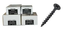 BLACK PHOSPHATE DRYWALL SCREWS 42mm x 1000