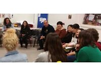 Free ESOL conversation classes - Wednesdays 4-6:00 in Bethnal Green