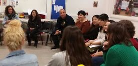 Free ESOL conversation classes in East London