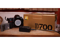 Nikon D700 Full Frame - Body Only - In Original Box
