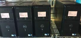 JOB LOT X4 DELL VOSTRO 260, 2GB RAM, 320GB HARD DRIVE, 2.60GHZ CPU,WINDOWS 7