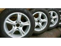ford transit connect ford focus alloy wheels and Good year winter tyre