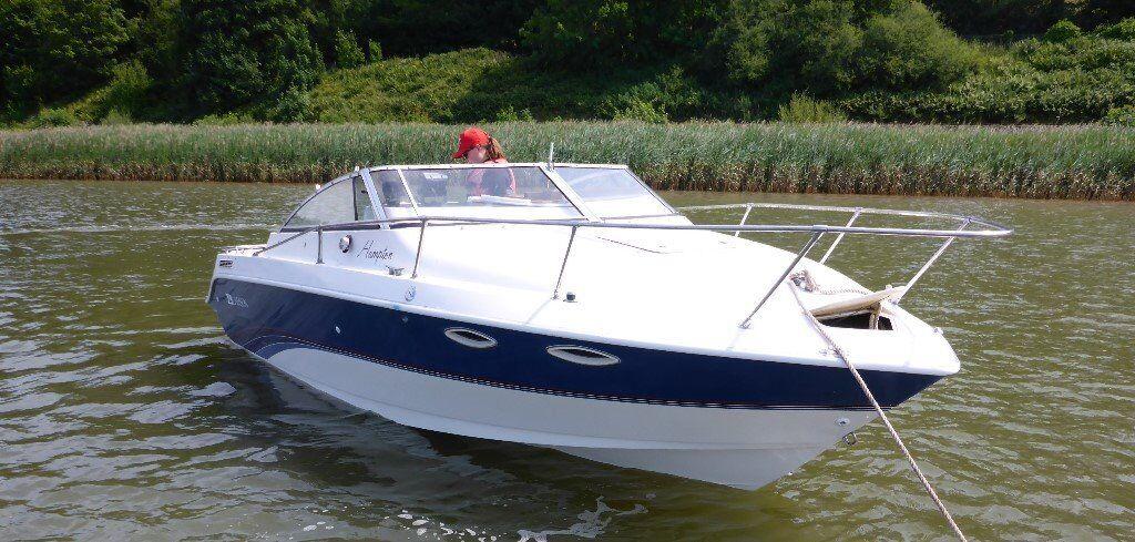 Larson Hampton 220 Speed Boat Cuddy Cabin 275hp 325 Hours Dual