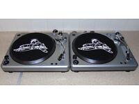 BUSH ACOUSTICS Belt Drive Vinyl DJ Turntables.