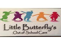 Little Butterfly's Out Of School