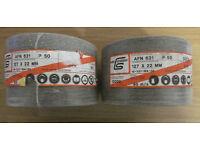 """100 X 127mm / 5"""" (125mm) 50G Fibre Discs Aluminium Oxide Sanding Discs C.F.Schröder Abrasives AFN631"""